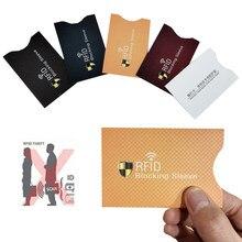 Funda protectora antirrobo para tarjetas de crédito RFID, funda protectora para tarjetas bancarias, 1 unidad