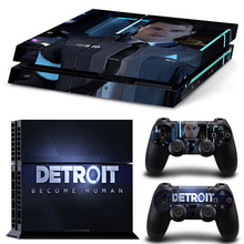 Detroit Become Human PS4 Skin Sticker for Sony PS4 PlayStation 4 and 2 controller skins