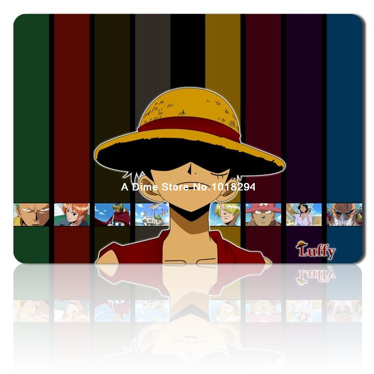 hot one piece mouse pad cool Luffy mousepad laptop anime pad mouse gear notbook computer gaming mouse pad gamer play mats