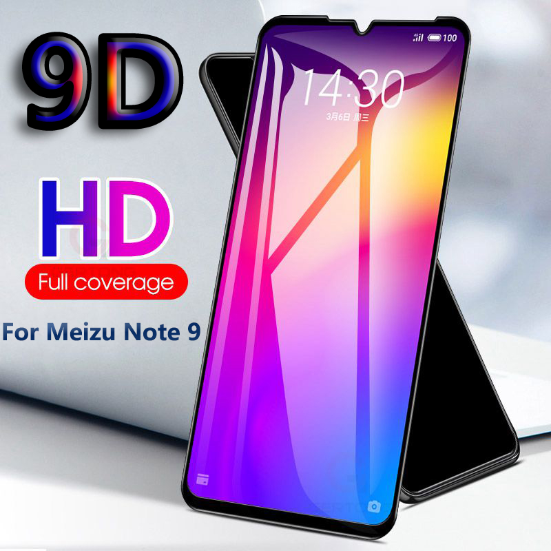 9D Full Curved Cover Tempered Glass for <font><b>MEIZU</b></font> M6 M5 M3 Note 9 M5S <font><b>M3S</b></font> <font><b>Mini</b></font> Screen Protector for <font><b>Meizu</b></font> M6S M5C Pro 6 Safety Film image