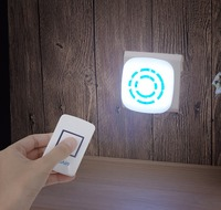 LED Remote Dimmable Night Light Creative Night Lamp For Bedroom Closet Cabinet Pantry Counter Bathroom Stairs