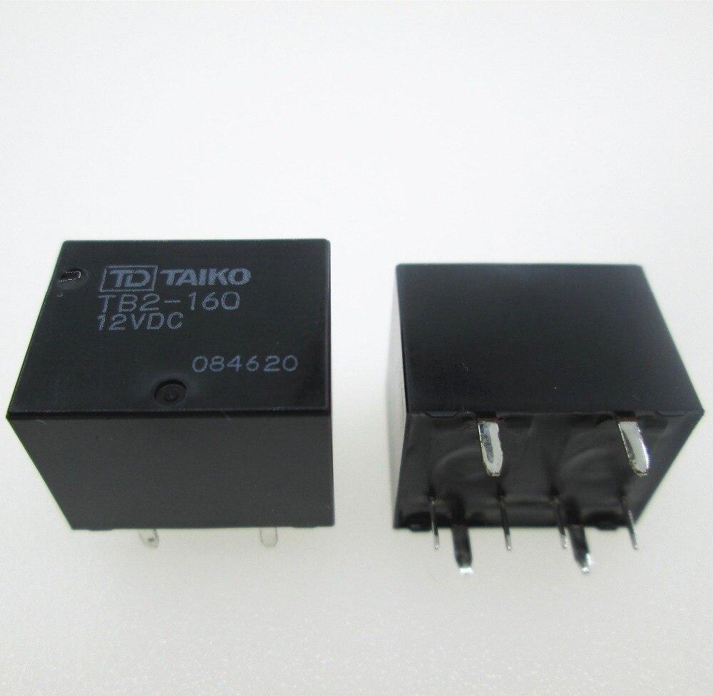 цена на NEW auto car 12V relay TB2-160-12VDC TB2-160 12VDC TB2160-12VDC TB2160 TB2 160 12VDC DC12V 12V 8pin