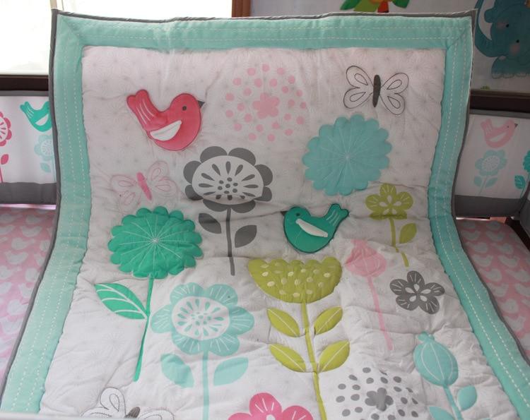 1 шт., Хлопковое одеяло для детской кроватки, 33*42, для мальчиков и девочек, Универсальное Детское одеяло с мультяшным принтом, детское одеяло, одеяла для кроватки, детские вещи для новорожденных - Цвет: comforter only24