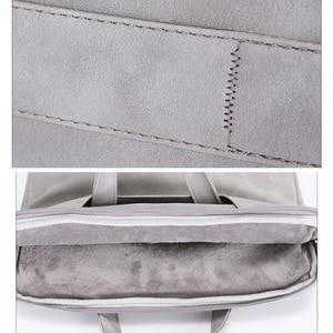 Image 5 - Sac étanche pour femmes, étui ordinateur portable en cuir synthétique polyuréthane étanche pour 13.3, 14, 15, 15.4 et 15.6 pouces, pochette pour ordinateur portable