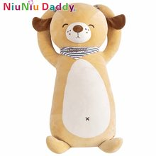 Niuniu Daddy Plush Puppy Pelly Soft Doggie Toy Plush Cute Dog Animal Doll Stuffed Animal Kids Toys Christmas Birthday Gifts 75cm(China)