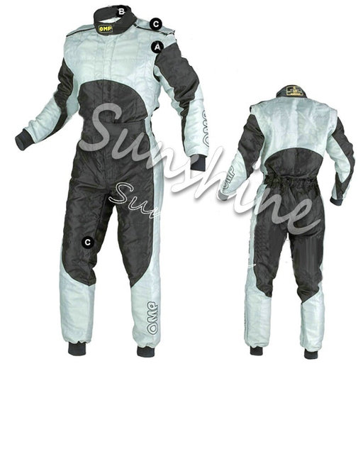 Racing Fire Suits >> Us 233 0 Omp Racing Suit Go Kart Racing Costume Drifting Racing Training Suits 2 Layers Fire Proof Fia Homologation On Aliexpress Com Alibaba