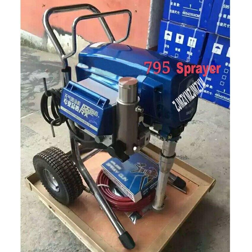 795 Airless Paint Sprayer 5.5L 3500W High Pressure Professional Spraying Machine Electric Paint Spray Paint Machine 110V/220V