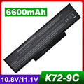Аккумулятор для ноутбука Asus li-ion А32-K72 A32-N71 K72 K72D K72DR K72F K72JR К73 K73E K73S K73SV N73SV X77X77VN k72-100 X77VN 9 клетки