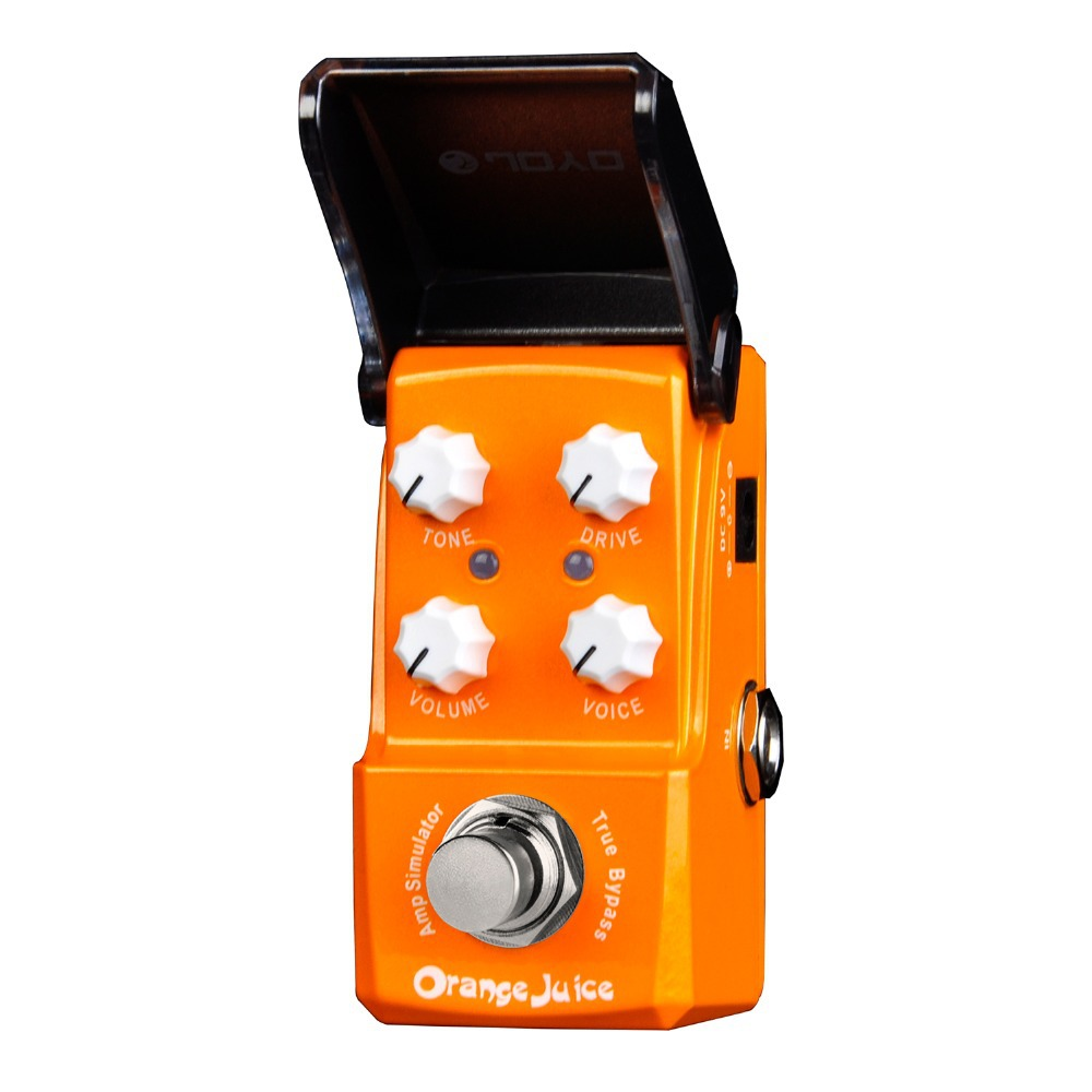 Joyo Orange Juice Amp Simulator Electric Guitar Effect Pedal True Bypass JF-310 joyo guitar effect pedal british sound effect pedal marshall amps simulator jf 16