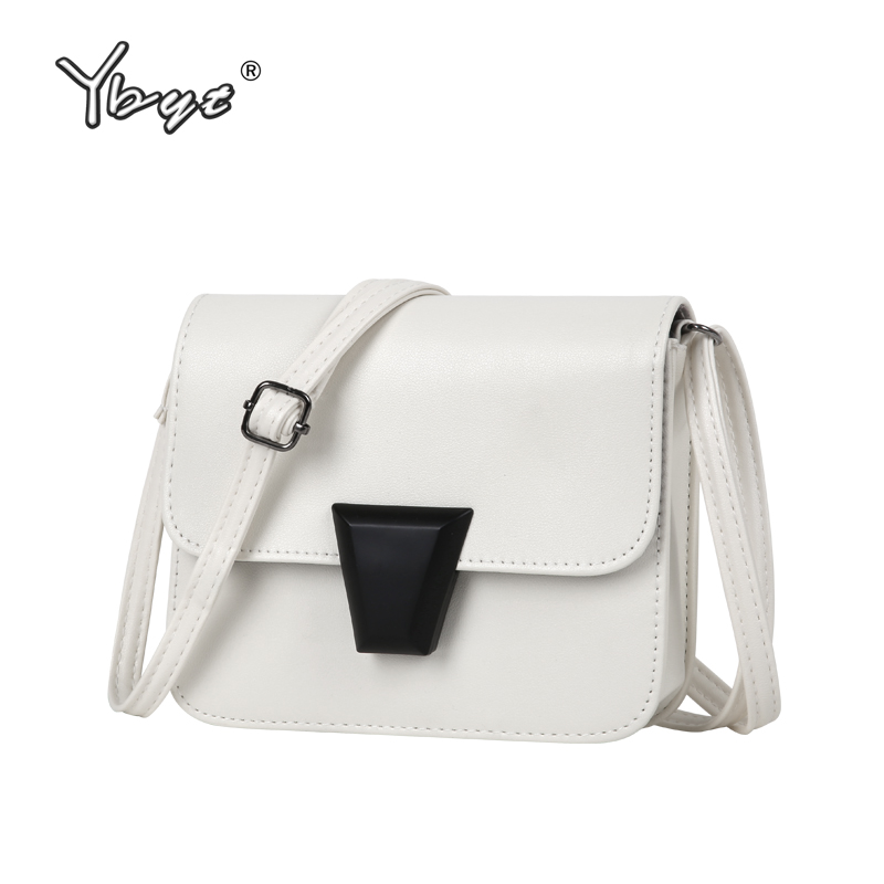 YBYT brand 2018 new women candy colors cell phone coin purses shopping bag ladies mini package shoulder messenger crossbody bags