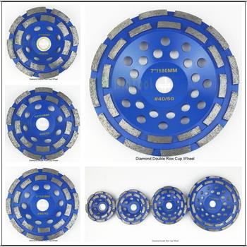 цена на DIATOOL 1 Pc Diamond Double Row Cup Wheel For Granite Hard Material With Good Quality Thickness Of Diamond 5mm