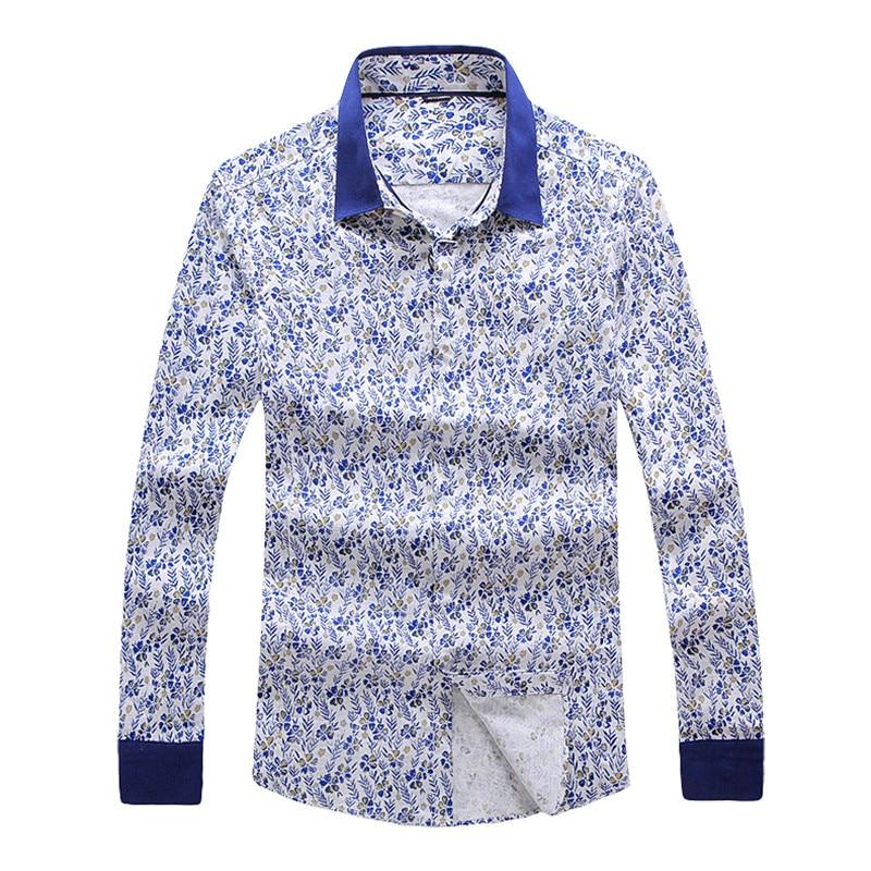 Online Get Cheap Patterned Blue Men Shirt -Aliexpress.com ...