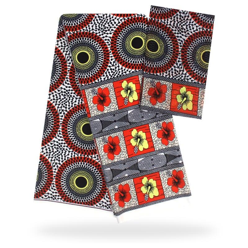 YBG! haute qualité africain cire impression tissu marque Stretch Satin soie tissu tissu soie offre spéciale en gros 4 + 2 yards/lot! L61892