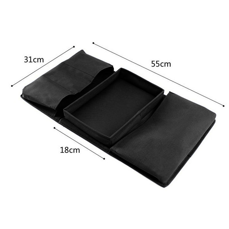 Stupendous Us 5 13 5 Off Foldable Sofa Chair Arm Rest 6 Pocket Organiser Couch Remote Control Table Organizer Storage Tray Holder Magazine Rack Caddy Bag In Machost Co Dining Chair Design Ideas Machostcouk
