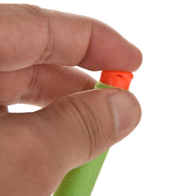 כדורי אקדח ססגוניות 7.2cm EVA רך חלול חור ראש מילוי חצים צעצוע צעצוע אקדח סדרת Blasters ילדים יום הולדת מתנות
