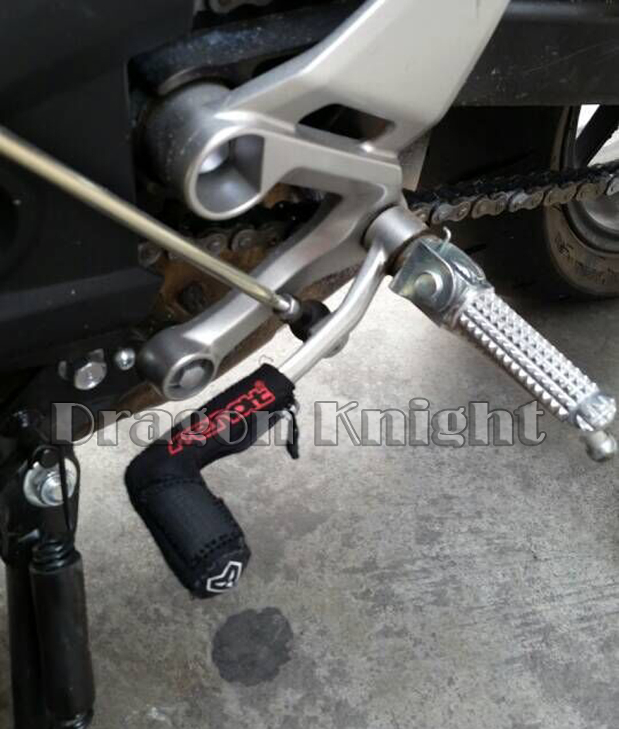 Motorcycle Billet Gear Lever Sock Peg Cover Hanging Gear Protective