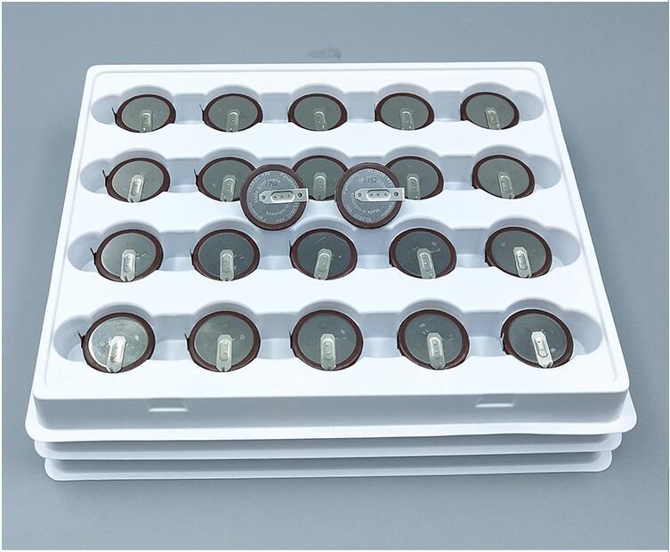 graus filé botão Bateria de célula tipo