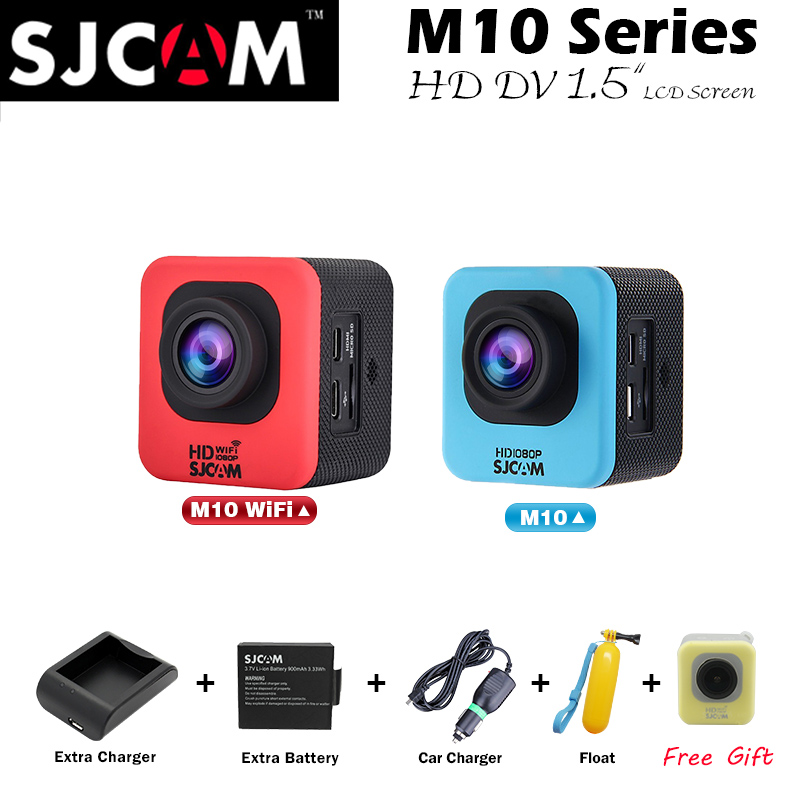 sjcam sj5000 plus ambarella a7ls75 sport camera Original SJCAM M10 WIFI Mini SJ4000 Action Camera sj M10/M10wifi/M10plus 2K 1080P Mini  Waterproof Sport DV Action Cam SJ4000