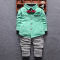 2016 Spring Newest Baby Boys Clothes Sets Infant/Newborn Gentleman style Shirt+Pnats Suits Kids Children Casual Suits