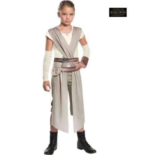 Halloween Costume for Kids Child The Force Awakens Rey Girls Movie Carnival Cosplay Carnival Costume for Kids