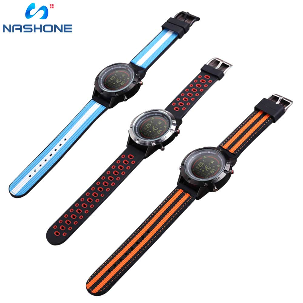 Image 3 - Nashone Men's Watches Waterproof Smart Watch Passometer Call Reminder Multi Function Stainless Steel Sports Watch Digital Clock-in Smart Watches from Consumer Electronics