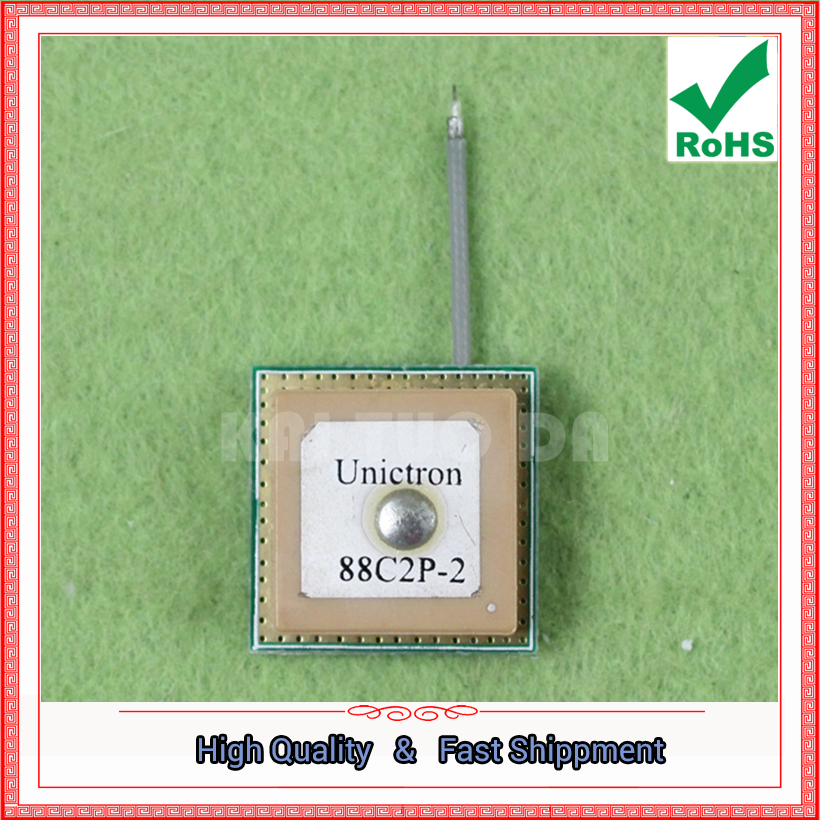 Free Shipping 2pcs GPS ceramic built-in antenna 18mm multiplied by 18mm (C2A2) ...
