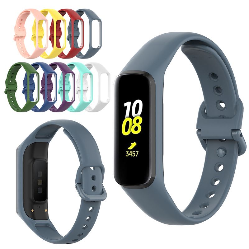 Smart Watch Strap Band For Samsung Galaxy Fit-e SM-R375 Quick Release Bracelet Sport Soft Silicone Strap
