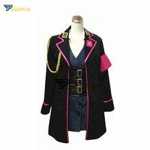 DRB Ichijiku Kadenokoji Dress Cosplay Hypnosis Mic Division Rap Battle Costume Custom Made Any Size