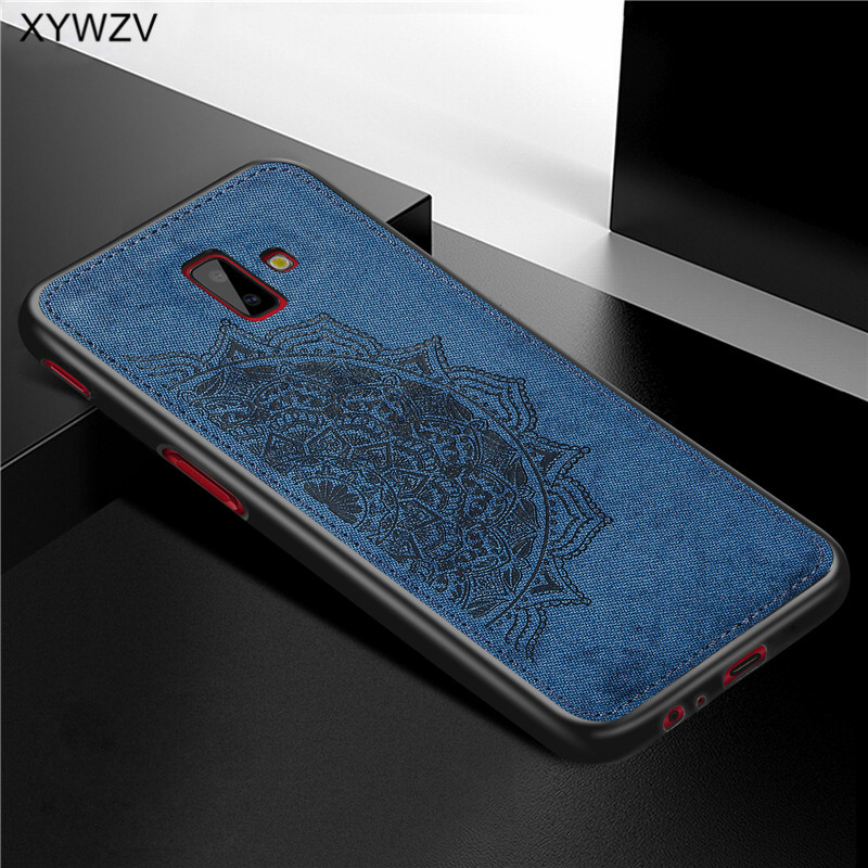Image 3 - For Samsung Galaxy J6 Plus Case Shockproof Soft Silicone Luxury Cloth Texture Case For Samsung J6 Plus Cover For Samsung J6+-in Fitted Cases from Cellphones & Telecommunications