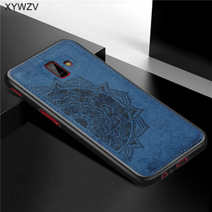 Image 3 - For Samsung Galaxy J6 Plus Case Shockproof Soft Silicone Luxury Cloth Texture Case For Samsung J6 Plus Cover For Samsung J6+