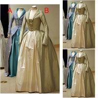 SC 1037 Victorian Gothic Vintage Dress Halloween Theater Dress Custom Made