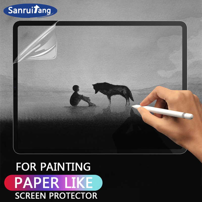 Paper Like Screen Protector For IPad 10.2 Pro 9.7 10.5 11 12.9 Inch Air 1 2 3 Mini 4 5 Film Matte Film Notebook For Apple Pencil