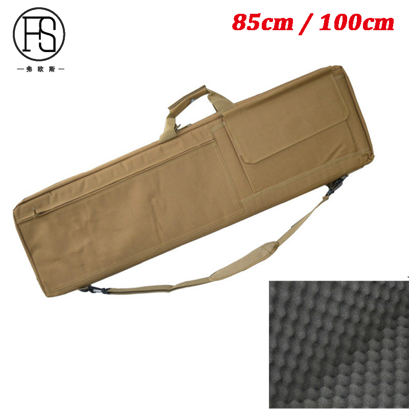 Outdoor Hunting Rifle Gun Protection Carry Shoulder Bag Tactical Airsoft Paintball Gun Military Backpack 85cm / 100cm outdoor sports molle tactical airsoft paintball rifle m4 carbine shotgun bag hunting gun backpack