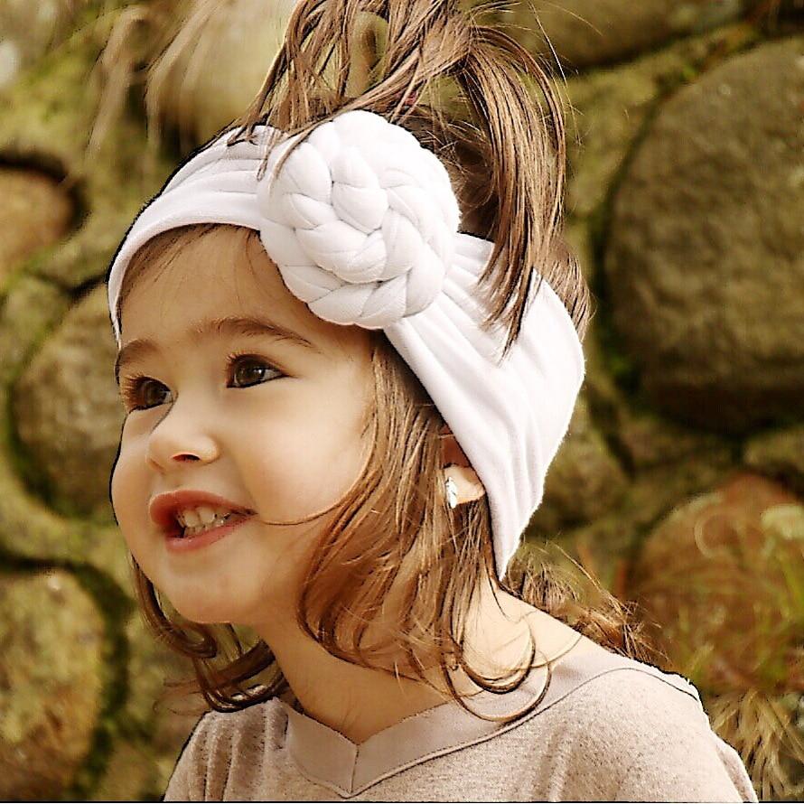On Sale 1 Pcs Baru Lahir Top Knot Headband Padat Sorban Ikat Kepala Topi Anak Baby Turban Bando Bayi Untuk Perempuan Band Aksesoris Rambut Musim Panas Bandeau Bebe Di