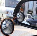 Car Wide Angle Round Vehicle Mirror Blind Spot RearView For Nissan Teana X-Trail Qashqai Livina Sylphy Tiida Sunny March Murano