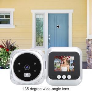 Image 5 - 2.4 inch TFT IR LED Smart Night Vision Security Door Viewer Video Electronic Camera doorbell camera deurbel