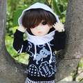 1/6 Bjd baby clothes yosd spring and autumn product top - - - - casual shirt pocket hat sweatshirt