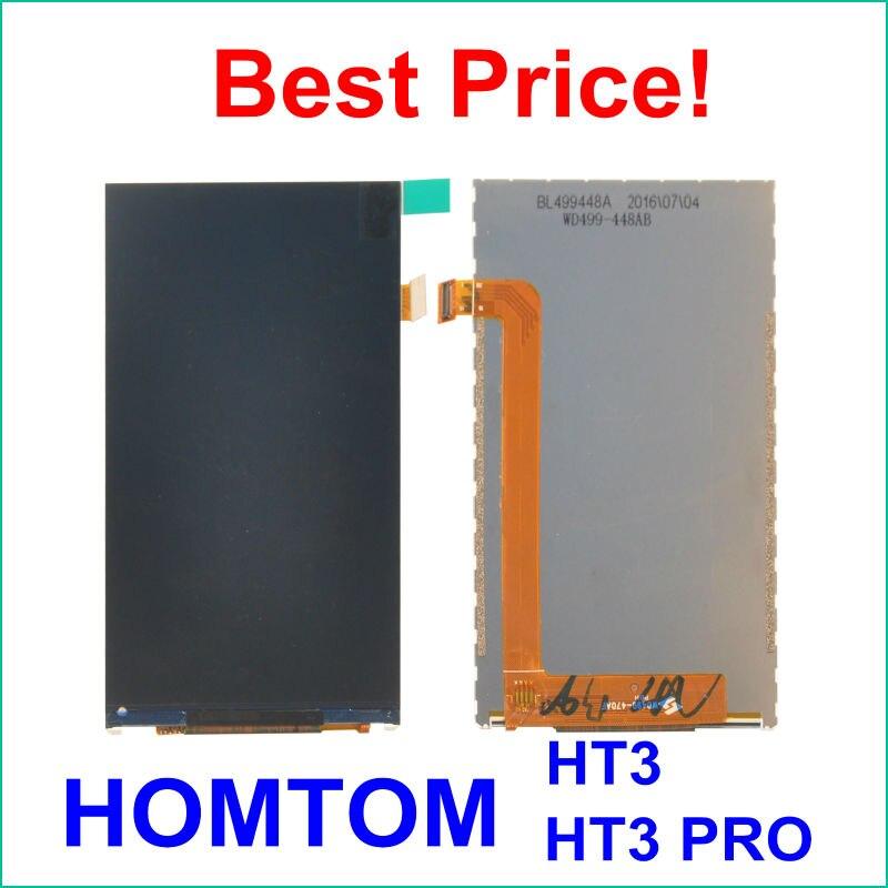 imágenes para Piezas de Reparación de LCD de Pantalla Perfecta para HOMTOM HT3/HT3 PRO 5.0 Pulgadas Digital Accesorios Envío gratis
