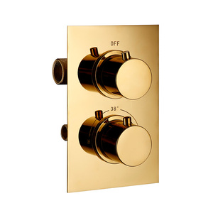 Image 3 - Smesiteli טיטניום זהב פליז מוצק מקלחת סט אינטליגנטי תרמוסטטי ברז ערבוב שסתום אמבטיה אמבטיה ברז 8 16 inch
