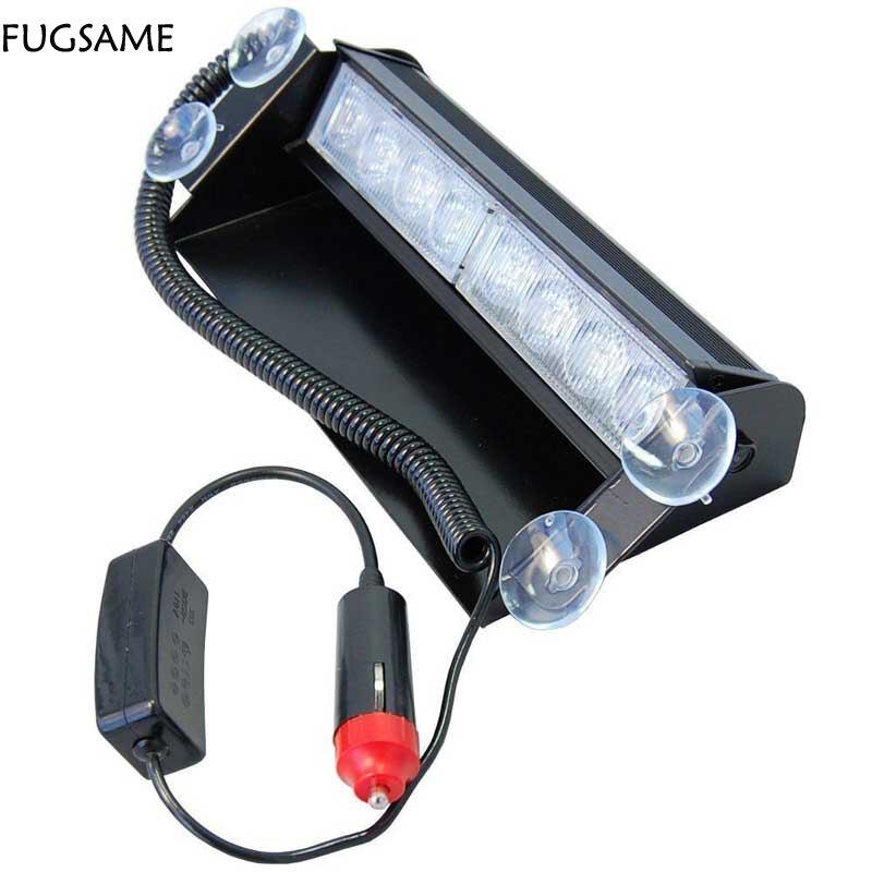 FUGSAME Car 8 LED Strobe vaku figyelmeztetés EMS rendőrség - Autó világítás - Fénykép 2