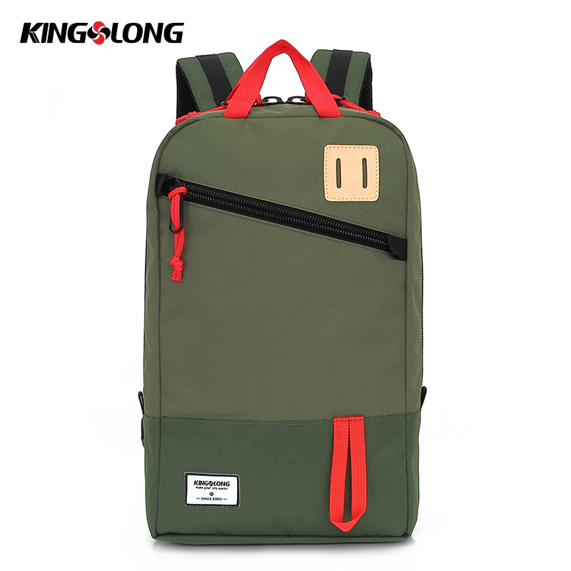 KONGSLONG Nylon Backpack Waterproof 10 Inch Laptop Backpack Bag for Little Boys Girls Casual Daypack Student School Bags