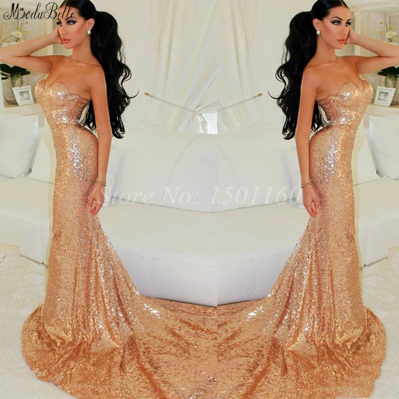 Gold sparkly fitted dress