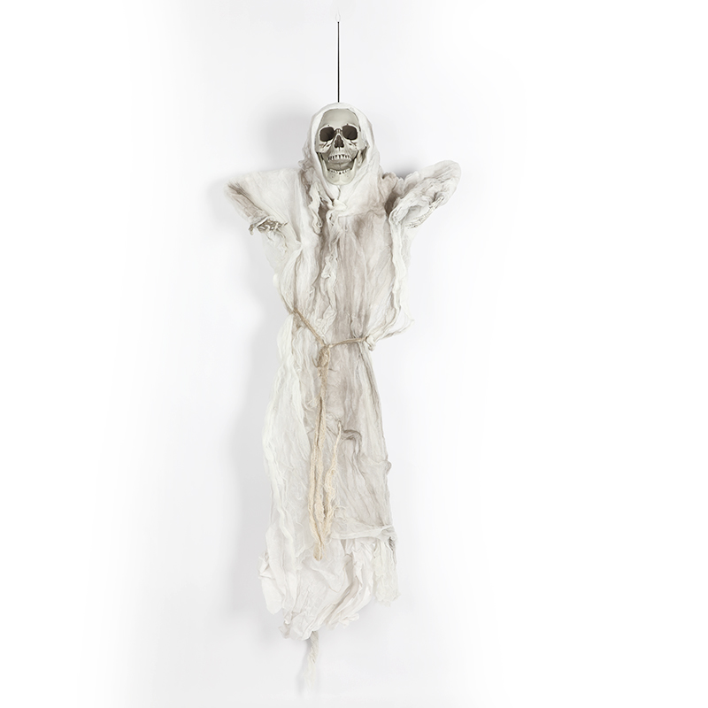 HTB1e9zqXcTxK1Rjy0Fgq6yovpXan - 165cm Halloween Hanging Ghost Haunted House Escape Horror Halloween Decorations Terror Scary Props Theme Party Drop Ornament 1pc