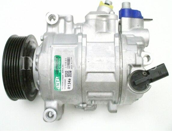 7E0820803J 7E0820803H JP6SEU14CND1 447150 2601 447150 2603 6SEU14C auto ac compressor for VW AMAROK TRANSPORTER MULTIVAN