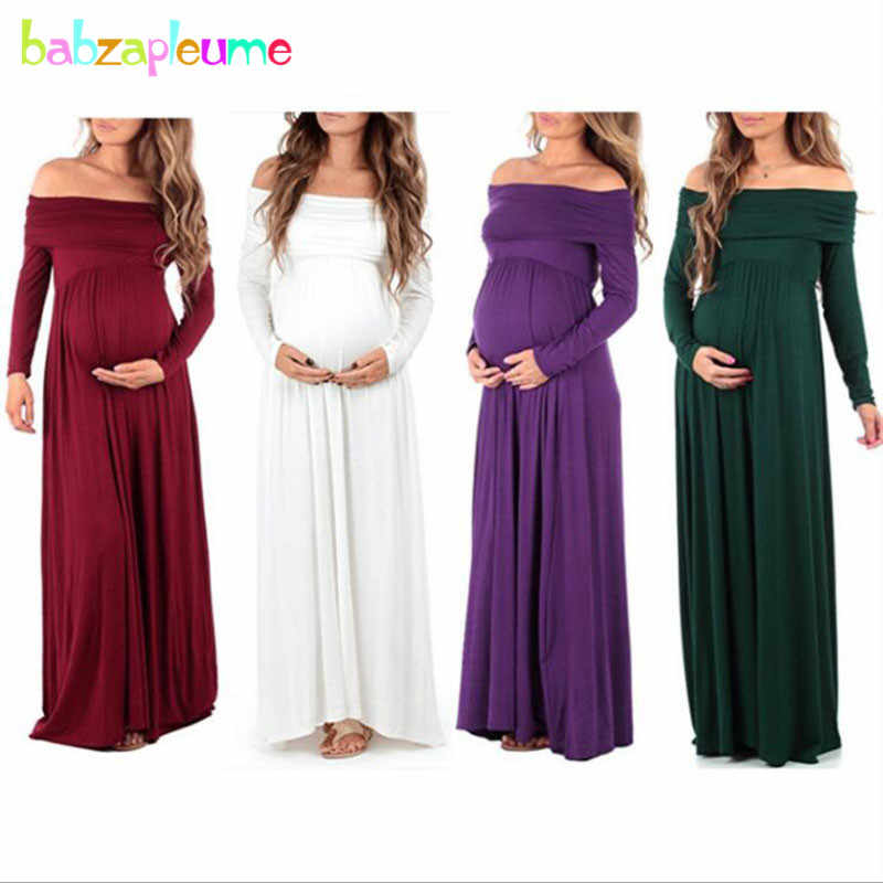 5d5fc8b064380 Summer Style Pregnancy Clothing Plus Size Maternity Wear Photography  Pregnant Dresses Evening Party Dress Nursing Clothes BC1648