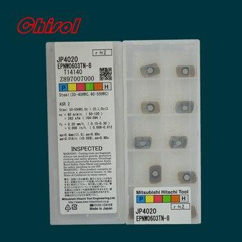 משלוח חינם באיכות גבוהה תוצרת סין EPNW0603TN-8 JP4020 cnc טונגסטן קרביד הכנס כרסום הכנס