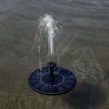 Gorąca sprzedaż New Arrival 7V pływająca pompa do wody Panel słoneczny rośliny ogrodowe podlewanie moc basen z fontanną Garde dekoracji