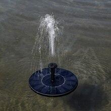 Venda quente nova chegada 7v flutuante bomba de água painel solar jardim plantas rega fonte energia piscina garde decoração