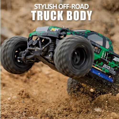 Voiture RC haute vitesse course 2.4G 4WD pleine Proportion monstre camion 40 kM/H télécommande BigFoot Buggy hors route voiture jouets électroniques