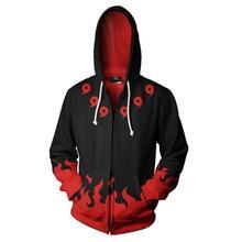 Naruto Six Paths Sage Mode Hoodie Zipper